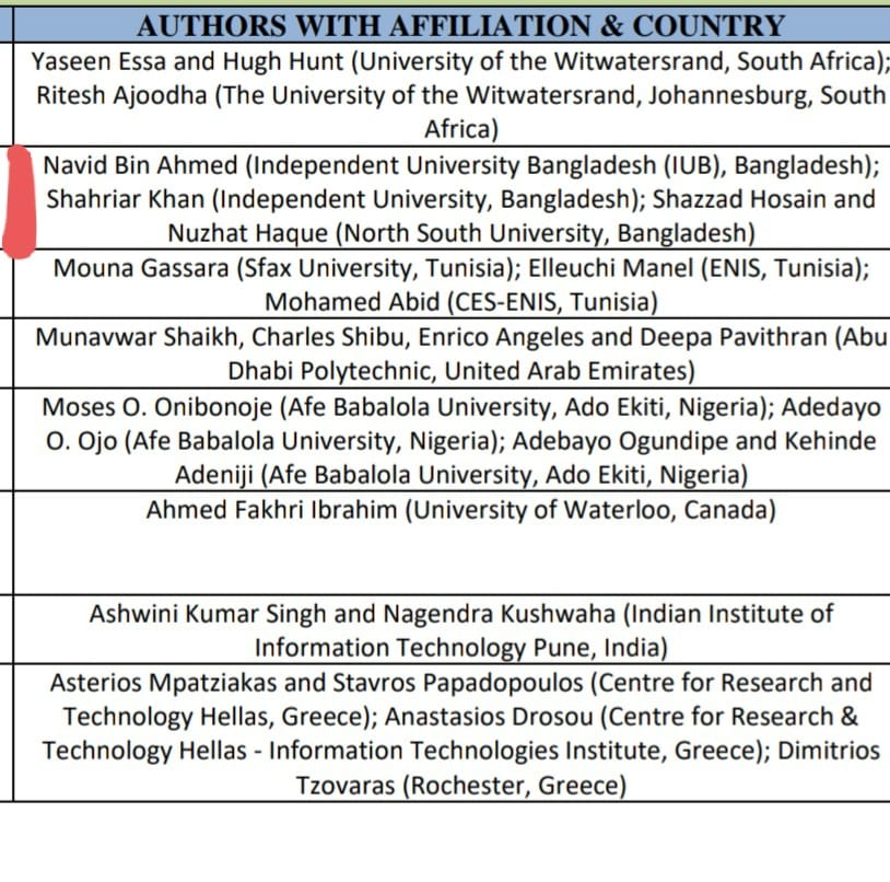 Navid's research paper in collaboration with IUB and NSU accepted in 2021 IEEE international IEMTRONICS conference in Canada